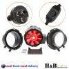 """Ezyflow Inline Fan 4"""" 6"""" 8"""" Inch Carbon Filter Ducting Duct Fan Kit Controller"""