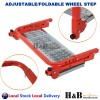 Wheel Step Tire Tyre Step Ladder Adjustable Foldable Tire Protection Van 4WD