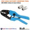 RG6 RG59 CATV Coax Coaxial Hexagonal Ratchet Crimper Crimping Tools F Connector