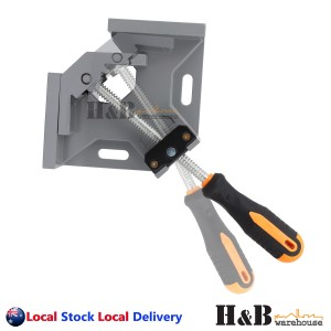 Heavy Duty 4 X Right Angle Corner Clamp Welding Vice Picture Frame Woodworking