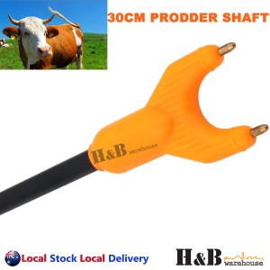 30cm Stock Cattle Prodder Shaft Rigid Fibreglass Shaft Wand Replacement