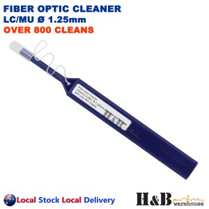 Fiber Cleaner Pen Fibre Optic Cleaning Tools LC MU 1.25mm 800 Cleans NBN CLE-PEN